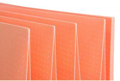 Перфорированная подложка-гармошка со звукопоглощающими качествами под ламинат СОЛИД (SOLID) ТЕРМО