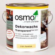 Цветное масло для внутренних работ «OSMO Dekorwachs Transparent» бесцветное 2.5л