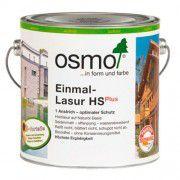 Однослойная лазурь на основе масел для наружных и внутренних работ OSMO Einmal-Lasur HS Plus патина 2.5л