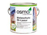 Защитное масло-лазурь для древесины с эффектом серебристого металлика OSMO Holzschutz Ol-Lasur Effekt агат серебро 0.75л