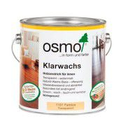 Масло с воском для твердых пород древесины «OSMO Klarwachs» 2.5л