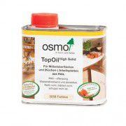 Масло с твердым воском для мебели и столешниц Osmo Top Oil натуральное 0.5л