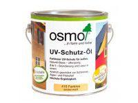 Защитное масло с УФ-фильтром для наружных работ OSMO UV-Schutz-Ol без биоцидов 0.75л