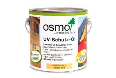 Защитное масло с УФ-фильтром для наружных работ OSMO UV-Schutz-Ol с биоцидами 2.5л