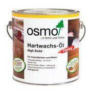 Цветное масло с твердым воском OSMO Hartwachs-Ol Farbig черное 2.5л