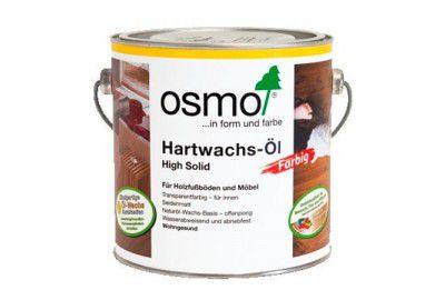 Цветное масло с твердым воском OSMO Hartwachs-Ol Farbig черное 0.75л