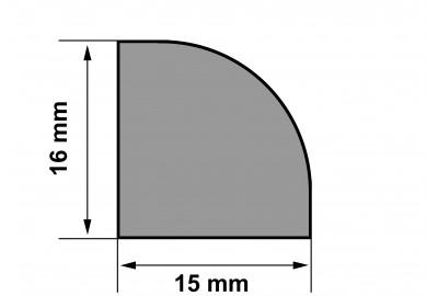 Молдинг (шпон натуральный) Для 3D панелей