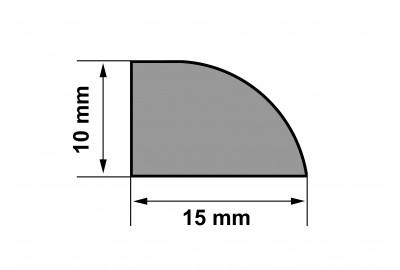 Молдинг (шпон натуральный) для 2D панелей (для 3D панелей опционально)