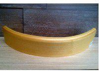 Изготовление радиусного плинтуса (шпон/массив)