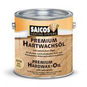 Масло с твердым воском без изменения цвета древесины «Saicos Premium Hartwachsol - Pur» матовое 0.125л