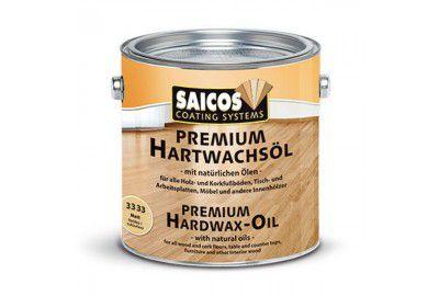 Масло с твердым воском без изменения цвета древесины «Saicos Premium Hartwachsol - Pur» матовое 2.5л