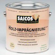 Пропитка древесины для влажных помещений «Saicos Holz-Impragnierung biozidfrei» 0.75л