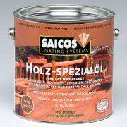 Масло для террасной доски SAICOS Holz-Spezialol черное прозрачное 0.75л