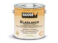 Бесцветная масляная лазурь SAICOS Klarlazur 2.5л