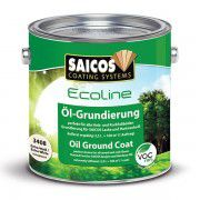 Масляная грунтовка «SAICOS Ecoline Ol-Grundierung» груша прозрачная 0.75л