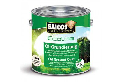 Масляная грунтовка «SAICOS Ecoline Ol-Grundierung» орех прозрачная 0.125л