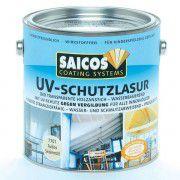 Защитная лазурь с УФ-фильтром для внутренних работ Saicos UV-Schutzlasur Innen бесцветная 0.75л