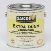 Грунтовка на основе масла для твердых и экзотических пород «Saicos Extra Dunn Grundierol» бесцветная 2.5л
