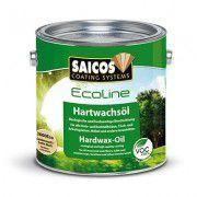 Масло с твердым воском «Saicos Ecoline Hartwachsol» шелковисто-матовый 0.125л