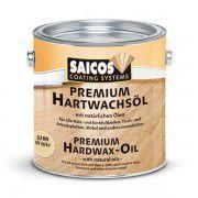 Цветное масло с твердым воском «Saicos Premium Hartwachsol» эффект прозр. с блеском 0.75л