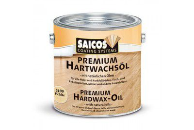 Цветное масло с твердым воском «Saicos Premium Hartwachsol» палисандр прозрачное матовое 0.125л
