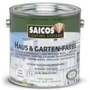 Непрозрачная краска для наружных и внутренних работ на основе масел SAICOS Haus&Garten-Farbe бордо 2.5л